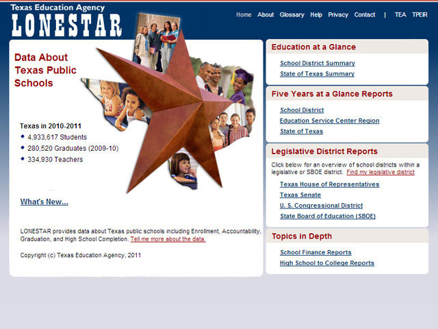 Texas Education Agency - Lonestar