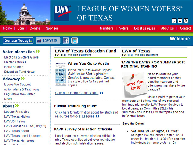 League of Women Voters of Texas